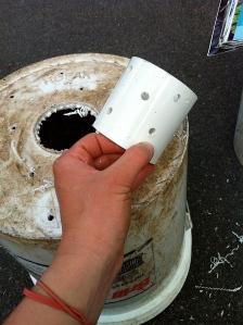 PVC spacer