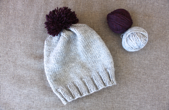 How To Knit A Toddler's Hat | SCISSORS & SAGE