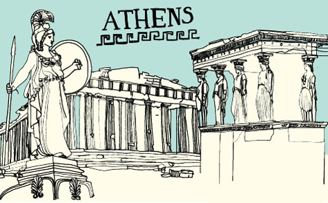 Design*Sponge's Athens city guide