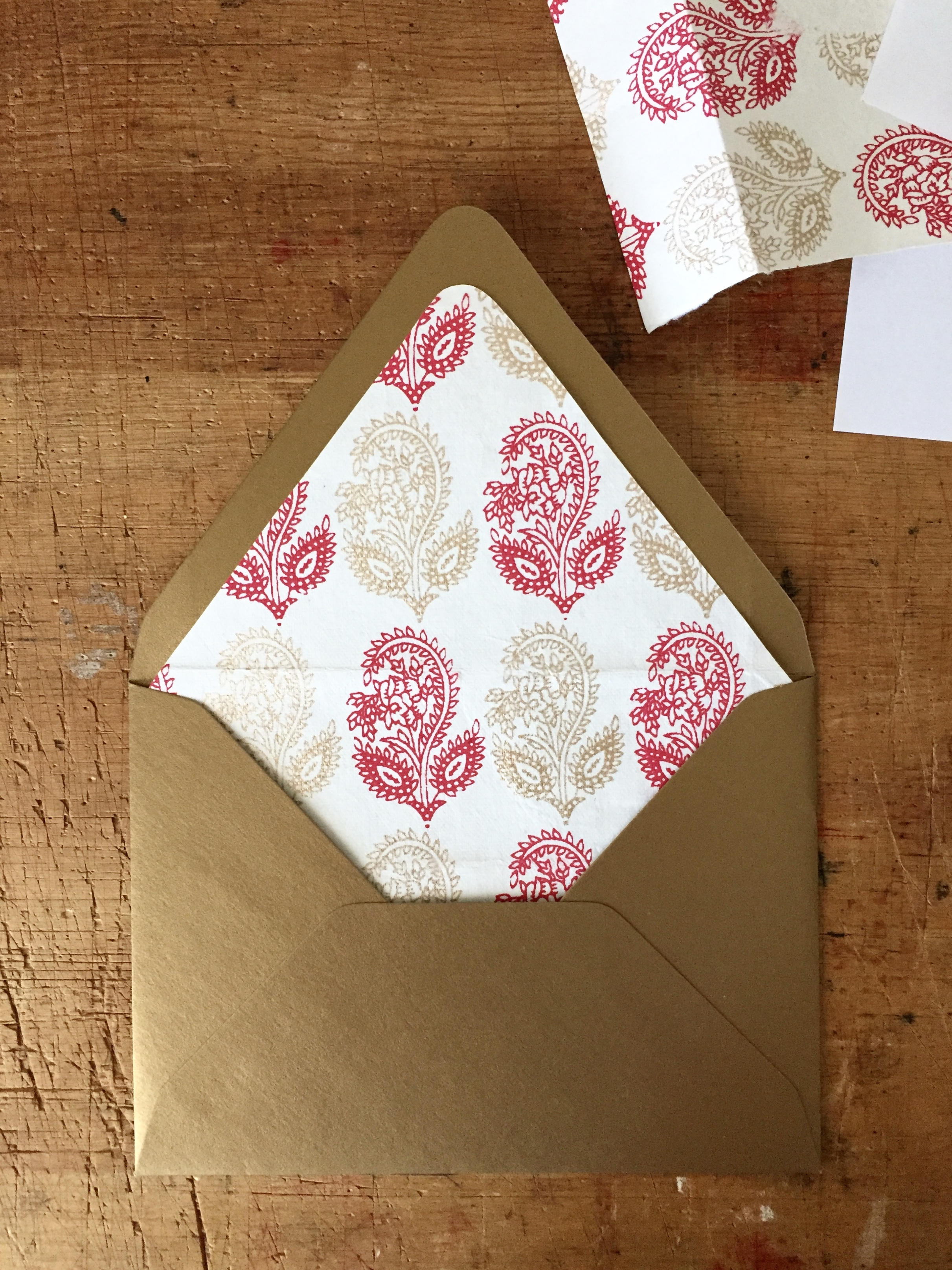 How To Make Envelope Liners – Envelope Liner Template